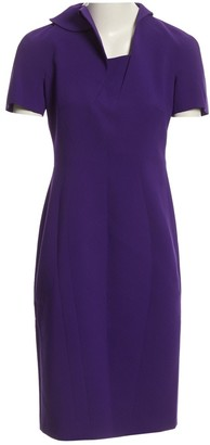 Jil Sander Purple Synthetic Dresses