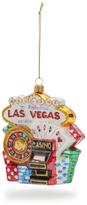 Sur La Table Las Vegas Glass Ornament