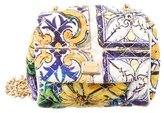 Dolce & Gabbana Quilted Majolica Print Crossbody