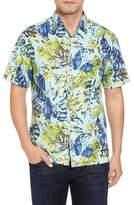 Tommy Bahama Riviera Garden Standard Fit Silk Blend Camp Shirt