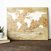 Cathy's Concepts Cathys concepts Travel the World Canvas Wall Art