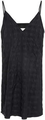 Marques Almeida Jacquard Mini Slip Dress