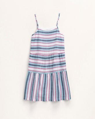 Splendid Girl Woven Stripe Dress