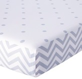 Circo Duo Modern Print Fitted Crib Sheet