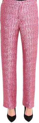Pt01 Sequin Embellished Trousers