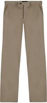 Aquascutum Langden Garment Dyed Moleskin Suit Trousers, Beige