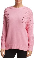 Honey Punch Washed V-Back Sweater