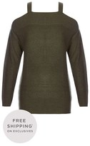 City Chic Chic Cut Out Jumper