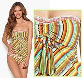 Lucky Brand Tankini Santiago Strapless Top Only Multicolor M