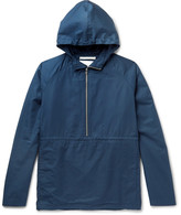 Norse Projects - Frank Cotton Hooded Half-zip Jacket