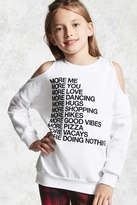 FOREVER 21 girls Girls More Me Top (Kids)