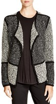 Vince Color Block Textured Jacket