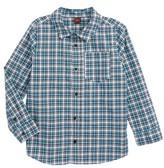 Tea Collection Toddler Boy's Heath Plaid Woven Shirt