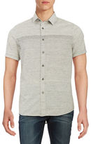 Howe Textured Cotton Sportshirt