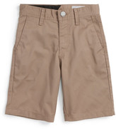 Volcom &Modern& Chino Shorts (Toddler Boys & Little Boys)