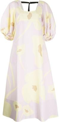 Lee Mathews Aster floral-print dress