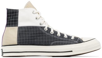 Converse Black Quad Ripstop Chuck 70 high top sneakers