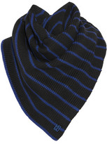 Marc by Marc Jacobs Eva Striped Wool Scarf