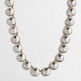 J.Crew Factory Brass-plated crystal necklace