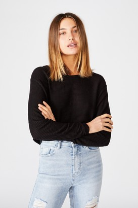 Supre Taylor Crew Neck Long Sleeve Top