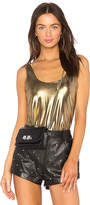 h:ours x REVOLVE Prairie Tank in Metallic Gold. - size L (also in M,S,XS)