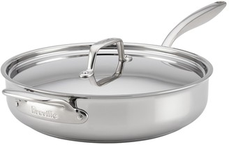 Breville Thermo Pro Clad 5 Quart Covered Saute Pan