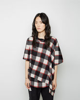3.1 Phillip Lim Asymmetrical Flannel Top