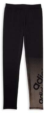 adidas Girl's Dot Fade Graphic Leggings