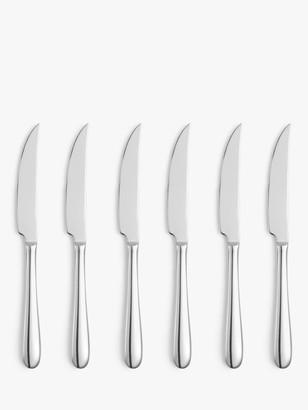 John Lewis & Partners Dome Steak Knives, Set of 6