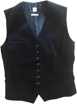 Hermes Black Velvet Top for Women