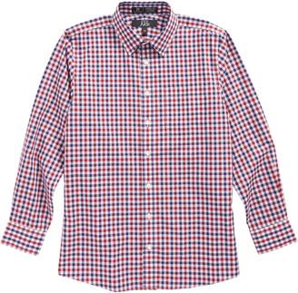 Nordstrom Dot Gingham Sport Shirt