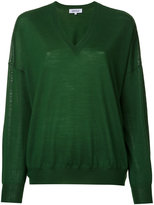 Enfold V-neck sweater