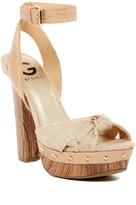 G by Guess Revail Platform Sandal