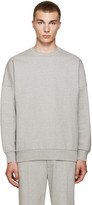 Acne Studios Grey Font Sweatshirt