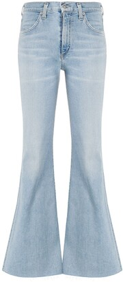 Citizens of Humanity mid-rise flared jeans