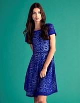 Yumi Lace Tile Skater Dress