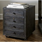 Hooker Furniture Beaumont 2-Drawer Mobile Lateral Filing Cabinet