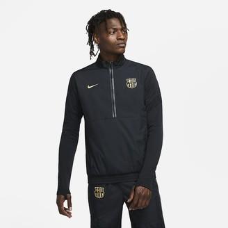 Nike Men's 1/2-Zip Woven Soccer Track Jacket FC Barcelona