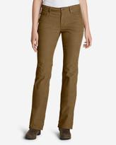 Eddie Bauer Women's Curvy Bootcut Cord Pants