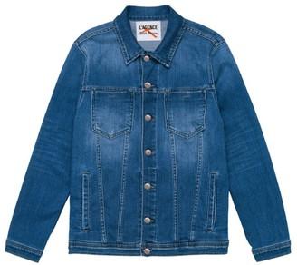 L'Agence Karissa Oversized Denim Jacket