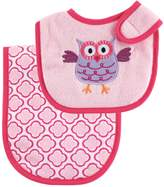 Luvable Friends Bib and Burp Cloth Set