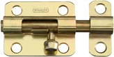 "Stanley 757802 - 2-1/2"" Brass Tone(ST4C) Barrel Bolt"