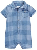 Splendid Printed Lightweight Denim Romper (Baby Boys)