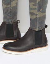 Selected Homme Rud Leather Chelsea Boots