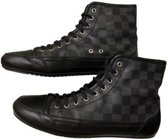 Louis Vuitton Rivoli Black Cloth Trainers