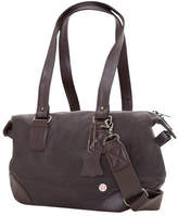 Token Lafayette Waxed Duffel Bag (XXS) - Dark Brown Shoulder Bags