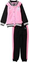 U.S. Polo Assn. Black Color Block Jacket & Pants - Infant Toddler & Girls