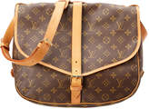 Louis Vuitton Monogram Canvas Saumur 35