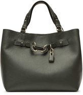 Reiss Bleecker Structured Leather Tote