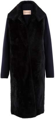 Yves Salomon Lambswool coat